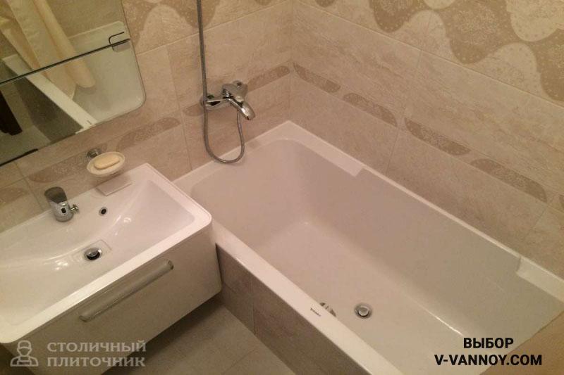 Маленькие ванные без туалета. 24 реальных фото