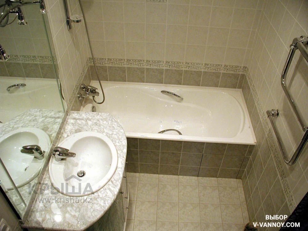 Дизайн ванны без туалета 4 кв.м фото