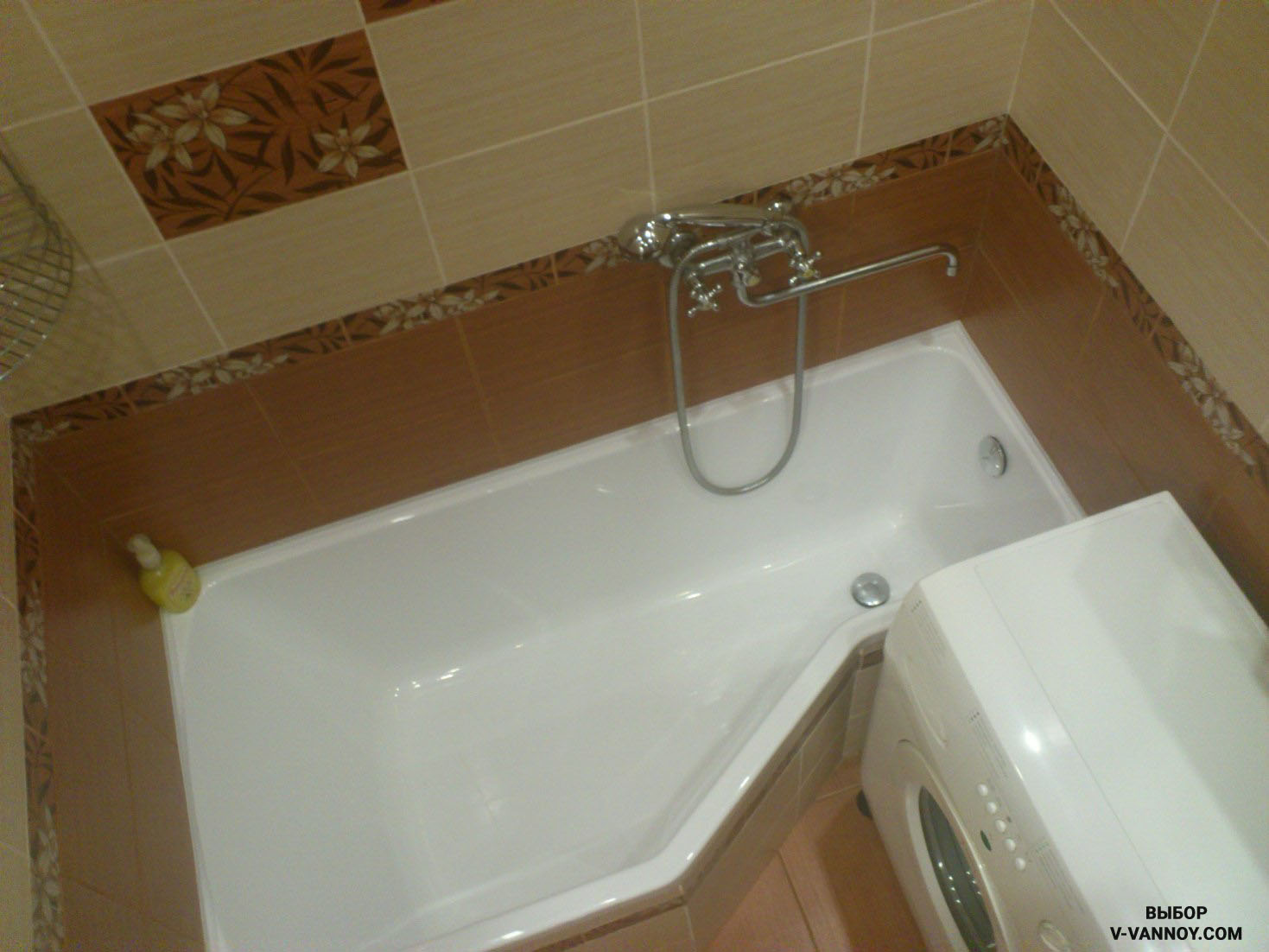Ванна совмещенная в хрущевке дизайн
