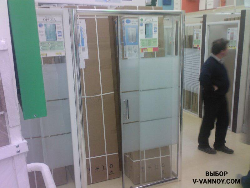 Sensea Optima распашная (98х122х190 см), 190 $.