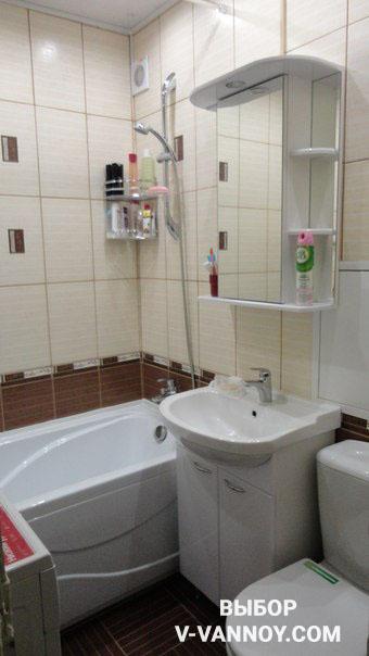 Дизайн больших современных ванных комнат