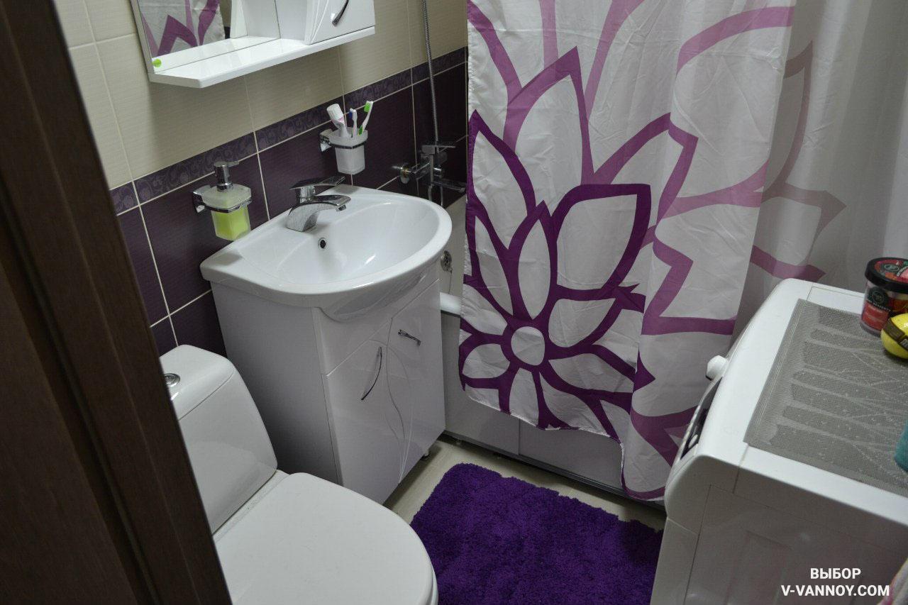 Готовый дизайн ванной