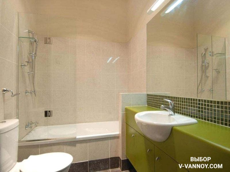 30 интерьеров ванных комнат, совмещенных с туалетом