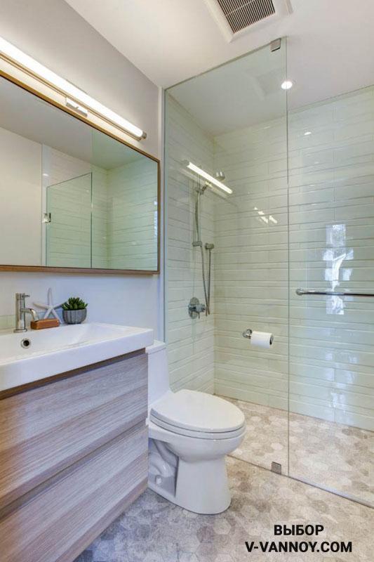 Санузел с ванной. 30 идей интерьера