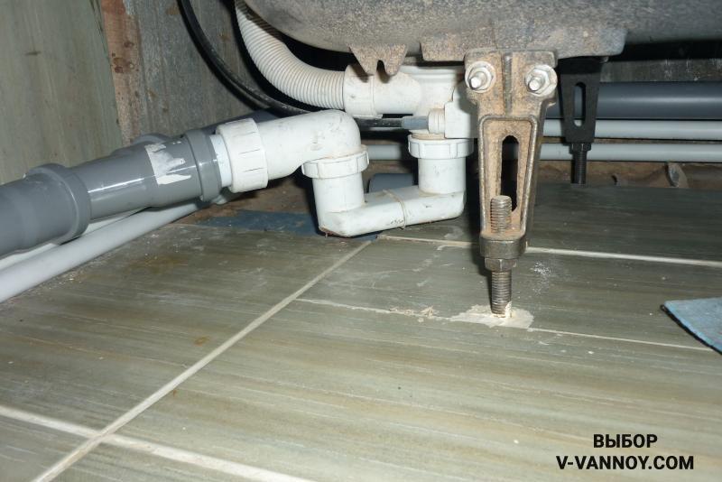 Универсальную систему обвязки для ванны можно подключить своими руками, установка не требует особых навыков