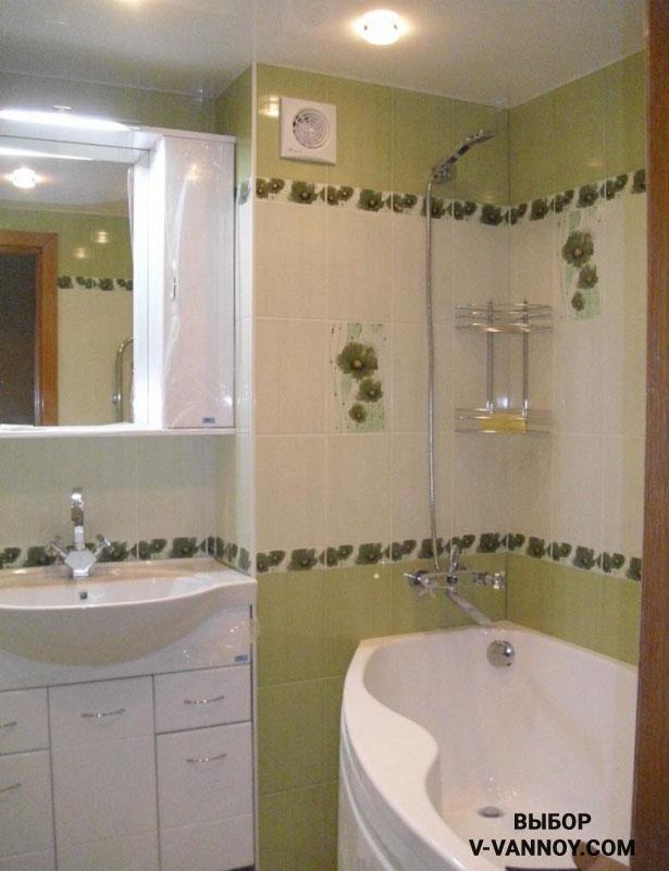 Оптимальный вариант для отделки маленького помещения – светлые оттенки плитки.