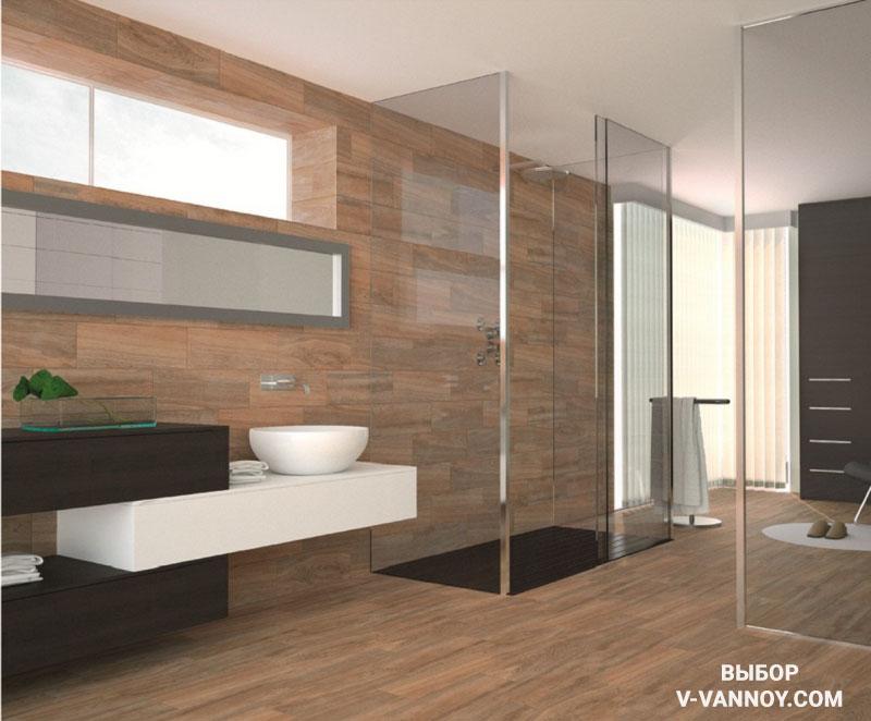 Коллекция Aliso от Baldocer (Россия) в ванной комнате.