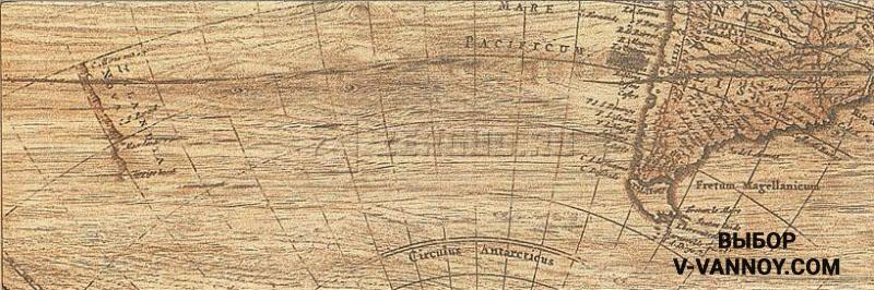 Плитка для отделки пола Mapas beige (150х450 мм). Страна-изгтовитель: Испания.