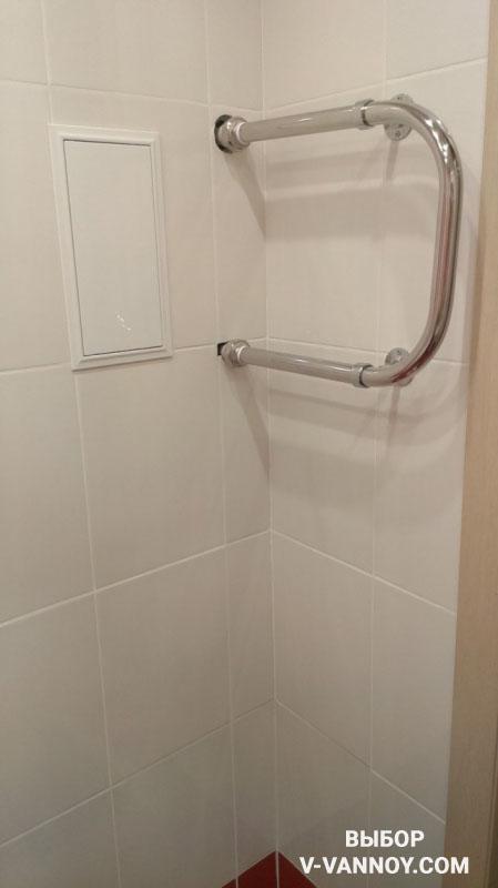 Ремонт ванной с перепланировкой, заменой плитки и монтажом короба
