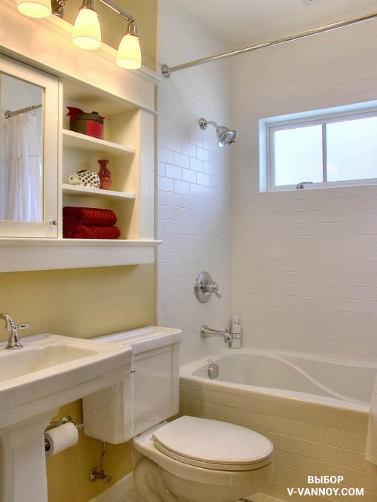 Дизайн хрущёвки ванной комнаты
