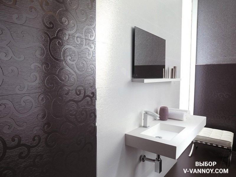 Дизайн ванной комнаты из панелей пвх фото