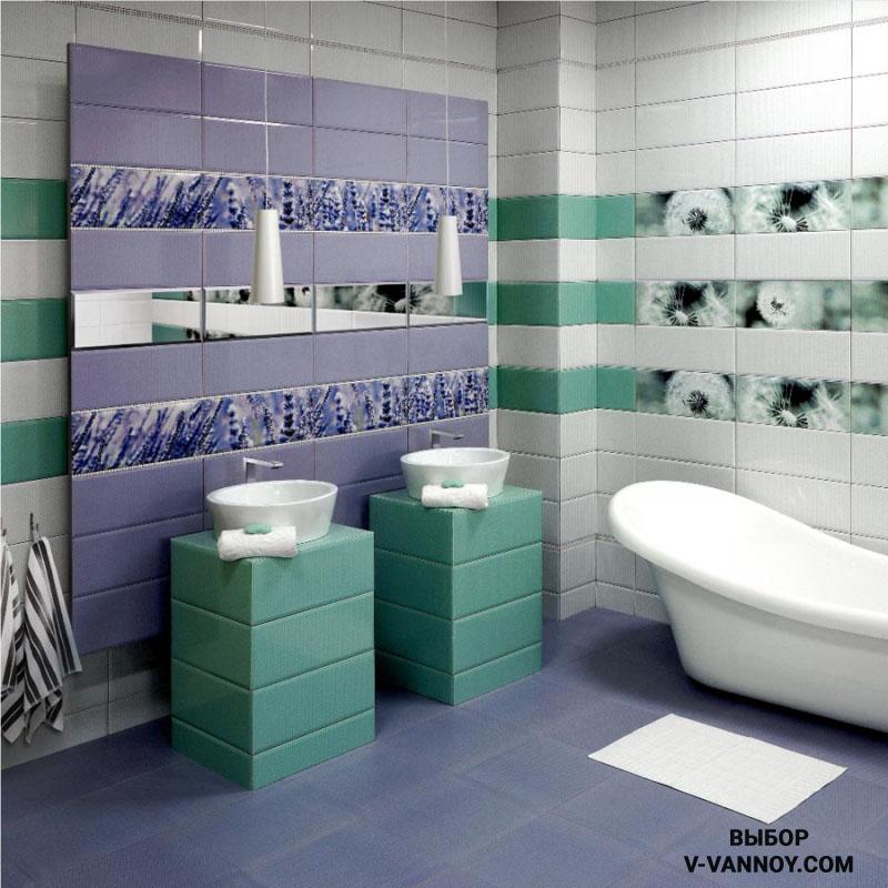 Кафель «Концепт» представлен в трех гаммах: розовой, коричневой и бирюзовой. Данная серия способствует созданию гармонии в ванной. Нейтральные оттенки покрыты узором «паутины», такой эффект смотрится оригинально и ненавязчиво.