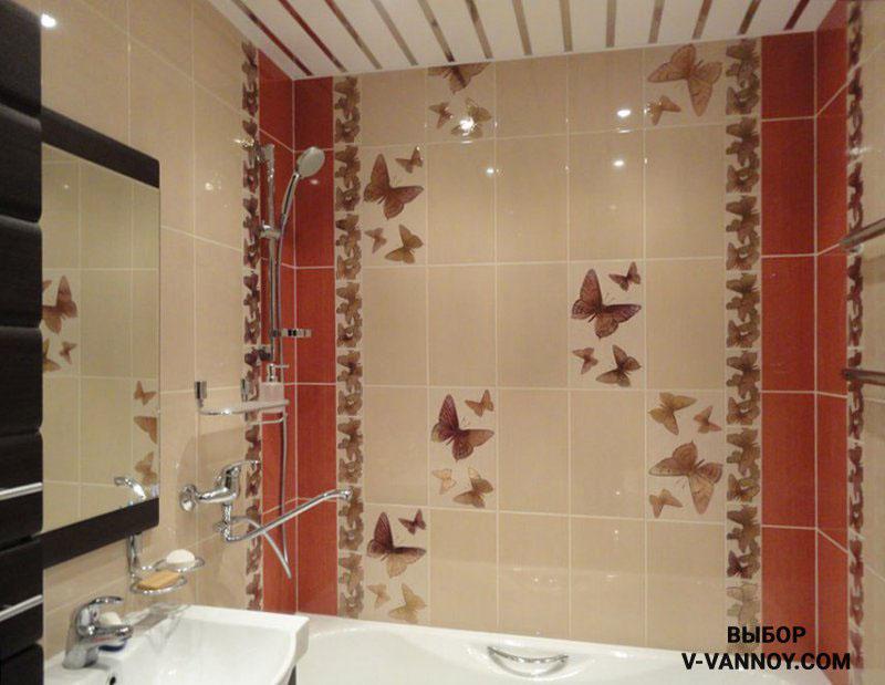 Крупный декор подходит для отделки стен даже в маленькой комнате. Чтобы пространство выглядело не слишком пестрым, важно выбрать минимальное количество оттенков для оформления интерьера и отдать предпочтение приглушенным цветам.