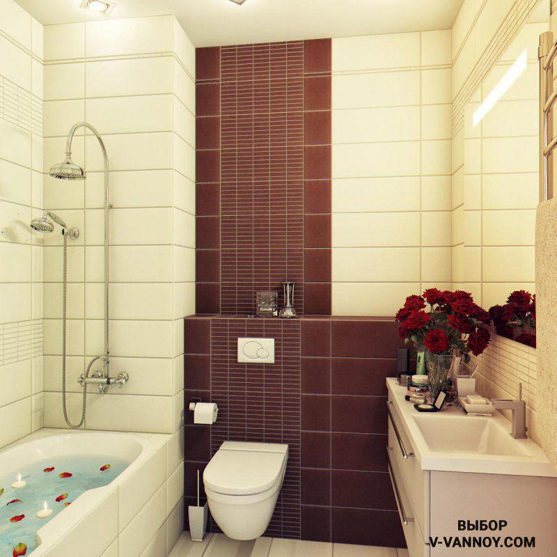 Если вы любите аксессуары, постарайтесь не перегружать небольшую ванную. Одного-двух предметов будет вполне достаточно.