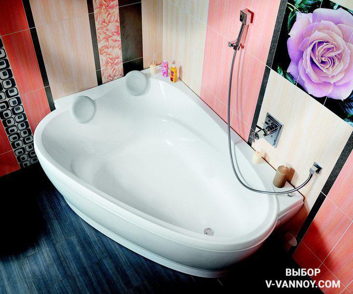 Ванна Love Story Pu-Plus (Ravak, Чехия). Размеры (ДхШхГ): 196х139х45,5 см. Высота с опорой: 62 см. Гарантия производителя: 10 лет.
