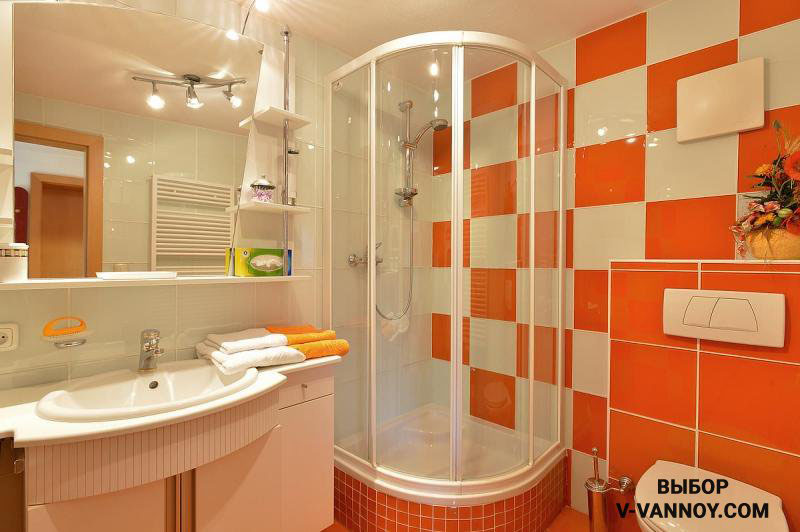 Показать ремонта в ванной