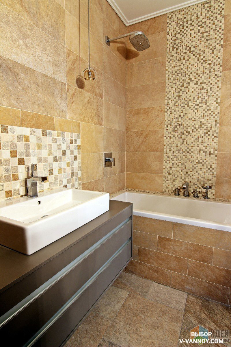 Цвет плитки в ванной