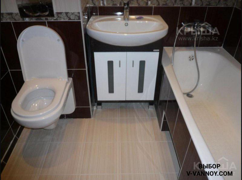 Отделка маленькой ванной комнаты