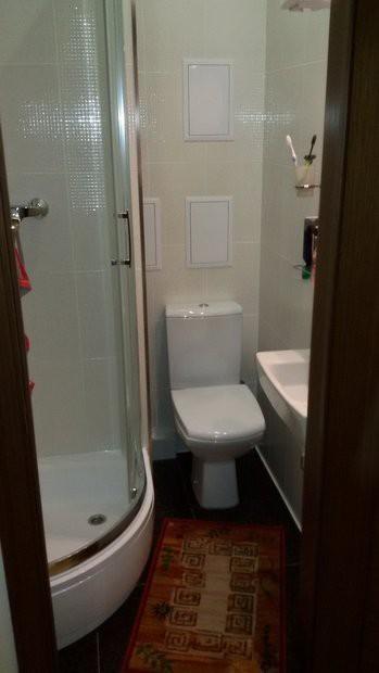 Как из туалета 1,9 кв.м. сделали совмещенный санузел за 2300 долларов