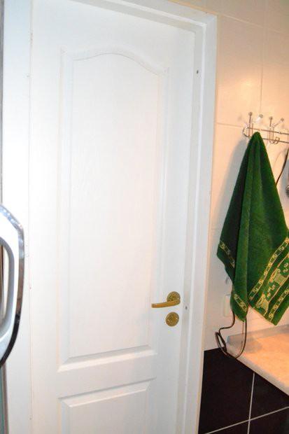 Ванная 3,4 кв.м с экраном вместо обычной шторки с ремонтом за 1000 долларов