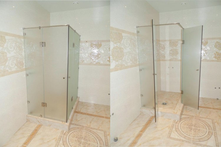 Ванная комната душ кабина монтаж дверей ванных комнат