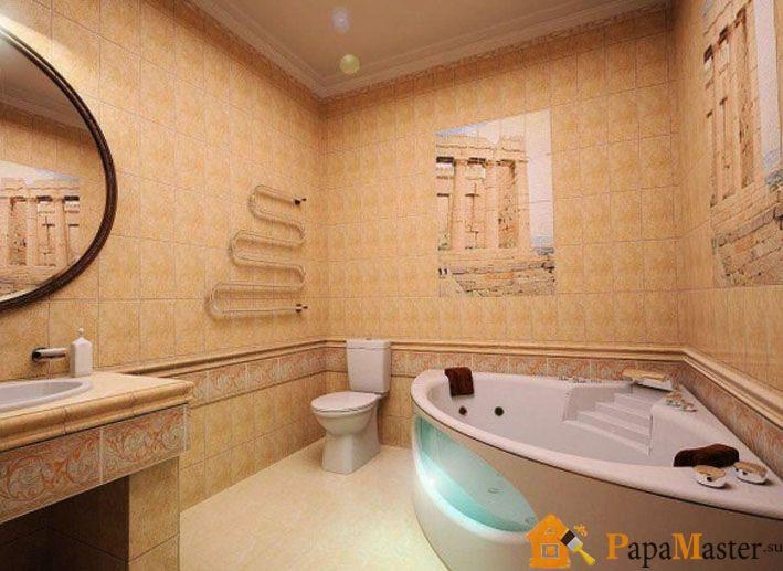 Дизайн треугольной ванной комнаты смеситель кухонный с двумя изливами купить