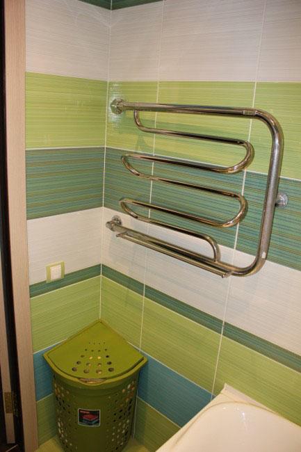 Обустройство ванной площадью 2.3 кв.м. за 1.800$ (описание с фото и ценами)